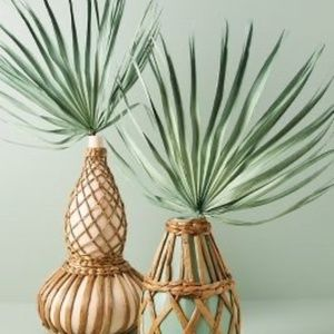 Anthropologie Green Terrain Dried Palm Fronds (2)
